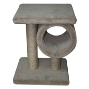 Family Cat Classy Kitty 19'' Tunnel Tower Cat Perch