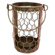 Craft Outlet Tin Wire Basket (Set of 2); Rustic
