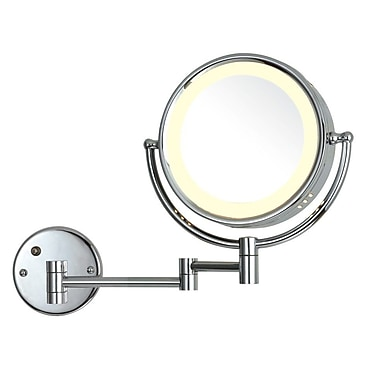 UCore LED 5X Wall Mounted Magnifying Mirror