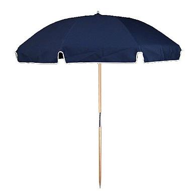Frankford Umbrellas 7.5' Beach Umbrella; Navy Blue