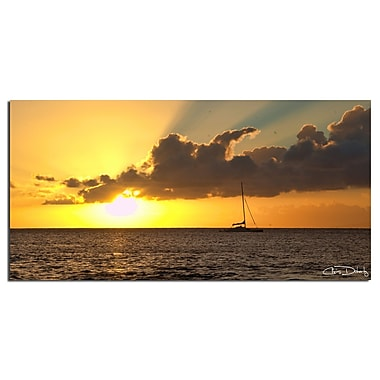 Ready2hangart 'Maui Sunset' by Chris Doherty Framed Photographic Print on Wrapped Canvas