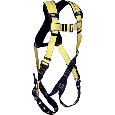 DBI Sala Delta™ Harnesses, Standard Vest Style with Tongue-Buckle Leg Connection, Universal