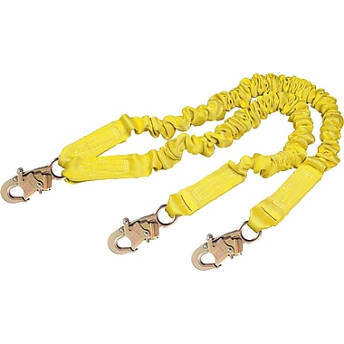 DBI Sala Shockwave™ 2 Lanyards with Snap Hook, 2 Legs