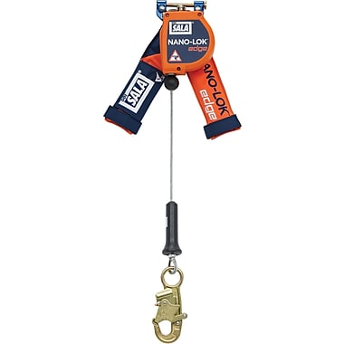 DBI Sala Nano-Lok Edge Self-Retracting Lifelines with Snap Hook, 1 Leg