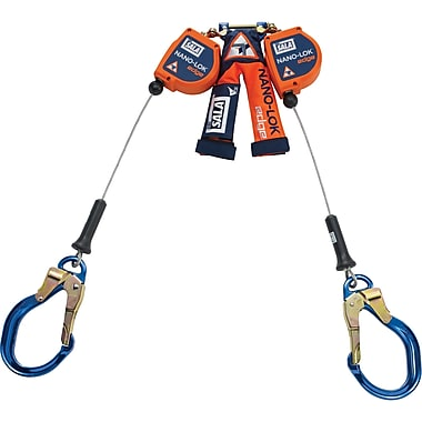 DBI Sala Nano-Lok Edge Self-Retracting Lifelines with Aluminum Rebar Locking Hooks