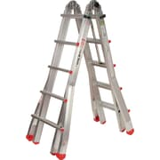 Featherlite Industrial Extra Heavy-Duty Multi-Purpose Jaws™ Telescopic Ladders
