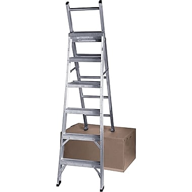 Featherlite Industrial Duty Aluminum Multi-Way Ladders (2700 Series)