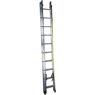 Featherlite Industrial Heavy-Duty Aluminum Extension/Straight Ladders (4200D Series), 20'