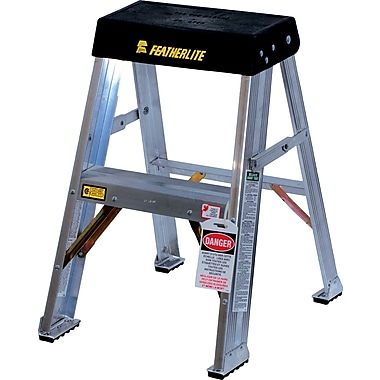 Featherlite Industrial Heavy-Duty Step Stool/Ladders, 3'