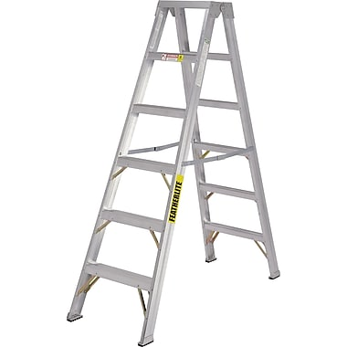 Featherlite Industrial Heavy-Duty 2-Way Stepladders (3600 Series)
