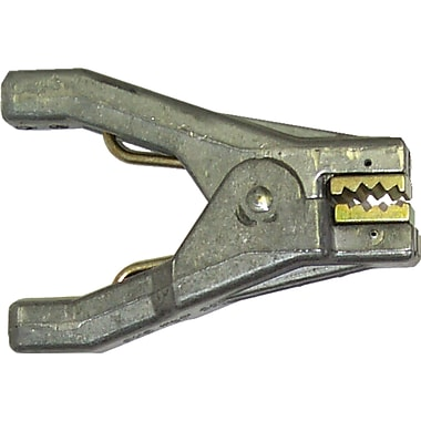 Lind Equipment Heavy-Duty Aviation Static Grounding Hand Clamp with Cast Aluminum and Plated Steel Jaws