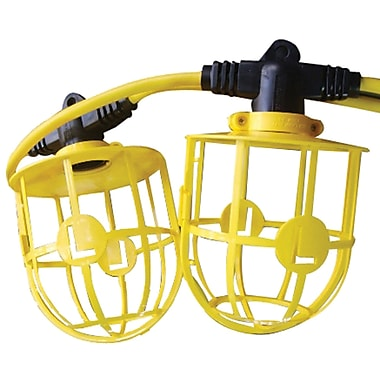 Lind Equipment Heavy-Duty Molded Stringlights, 100'