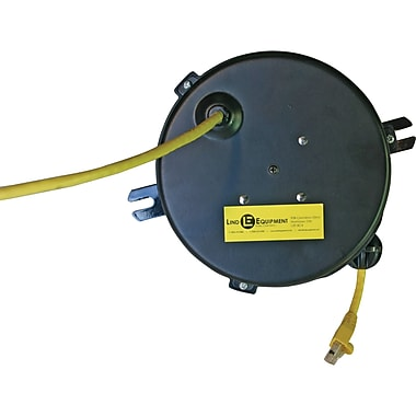 Lind Equipment LE2300 Series Medical & Data Cord Reels, CAT6 Cable, 20'