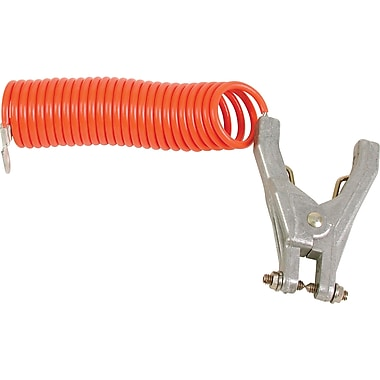 Lind Equipment – Pinces pour mise à la terre avec câble enroulé de 10 pieds