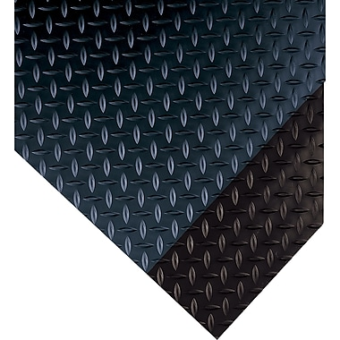 Wearwell – Ultrasoft Diamond-Plate Runner nº 385, 2 x 75 pi, noir