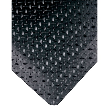 Wearwell – Tapis Diamond-Plate Select nº 495, 3 x 5 pi, 15/16 po, noir