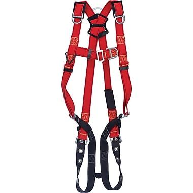 Protecta ProMD – Harnais de soudeur avec anneaux arrière/latéraux/épaule en D et sangles de jambe avec boucles à ardillon