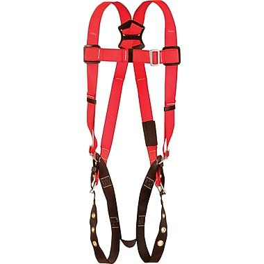 Protecta ProMD – Harnais avec anneaux arrière en forme de D et sangles de jambe avec boucles à ardillon