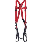 Protecta ProMD – Harnais de soudeur avec anneaux arrière en forme de D et sangles de jambe avec boucles à ardillon