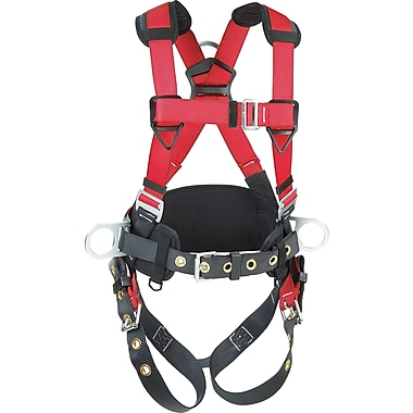 Protecta Pro™ Harnesses with Back/Side D-Rings and Tongue-Buckle Leg Connections