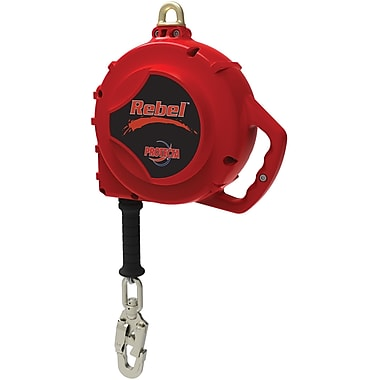 Protecta Rebel™ Web Self-Retracting Lifelines with Swivel-Snap Hook, 50'
