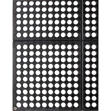 Wearwell – Tapis de corridor modulaire léger WorkSafeMD no 789, 3 x 3 pi