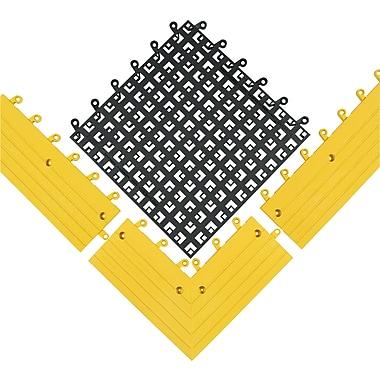 Wearwell – ErgoDeckMC souple no 564 et no 566 – Accessoires, 15 x 15 (po), anthracite
