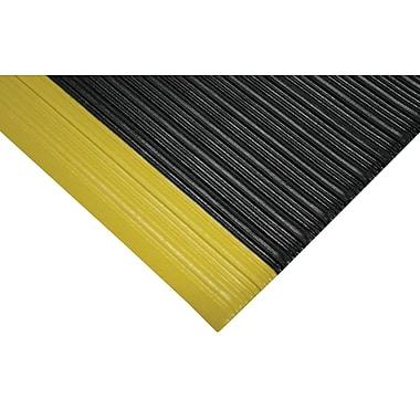 Wearwell – Revêtement éponge Tuf No 451, 2 x 3 pi, noir/jaune, 2/pqt