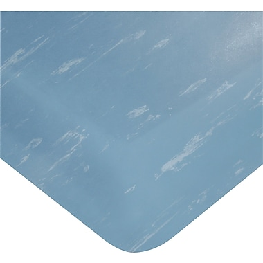 Wearwell – Tapis Smart Tile-Top de 7/8 po no 496, 2 x 60 pi, bleu