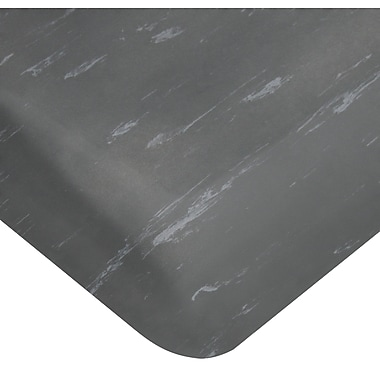 Wearwell – Tapis Smart Tile-Top de 7/8 po no 496, 3 x 60 pi, anthracite