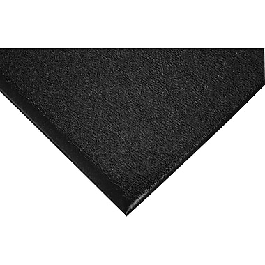 Wearwell – Tapis substance nº 513, surface galet, 3 x 5 pi, noir