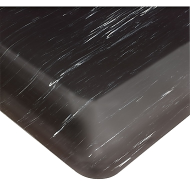 Wearwell Tile-Top AM No. 420, 3' x 60', Black