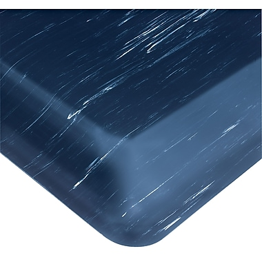 Wearwell – Tapis Tile-Top AM nº 420, 3 x 5 pi, bleu