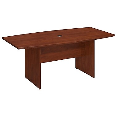Bush Business 72'' Boat Conference Table, Hansen Cherry (99TB7236HC)