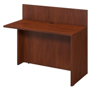 Bush Business Furniture Westfield 48W x 24D Privacy Bridge/Return, Hansen Cherry/Hansen Cherry (WC24508FA)