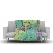 KESS InHouse Verdure Collage by Chickaprint Fleece Throw Blanket; 40'' H x 30'' W x 1'' D
