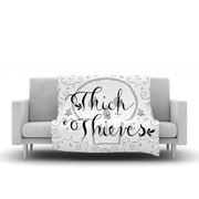 KESS InHouse Thick as Thieves by Skye Zambrana Fleece Throw Blanket; 60'' H x 50'' W x 1'' D