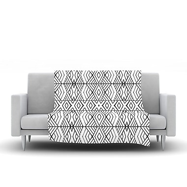 KESS InHouse Tribal Expression by Pom Graphic Design Fleece Throw Blanket; 80'' H x 60'' W x 1'' D