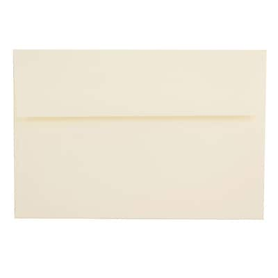 JAM Paper® A8 Invitation Envelopes, 5.5 x 8.125, Strathmore Natural White Laid, 1000/carton (75134B)