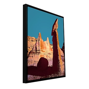 ArtWall 'Bisti Badland' Gallery-Wrapped Floater-Framed Canvas 18