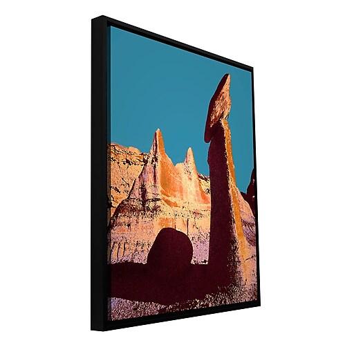 "ArtWall 'Bisti Badland' Gallery-Wrapped Canvas 14"" x 18"" Floater-Framed (0uhl105a1418f)"