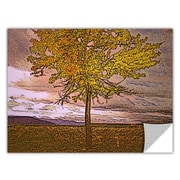 "ArtWall 'Teton Meadow Fall' Art Appeelz Removable Wall Art Graphic 36"" x 48"" (0uhl098a3648p)"