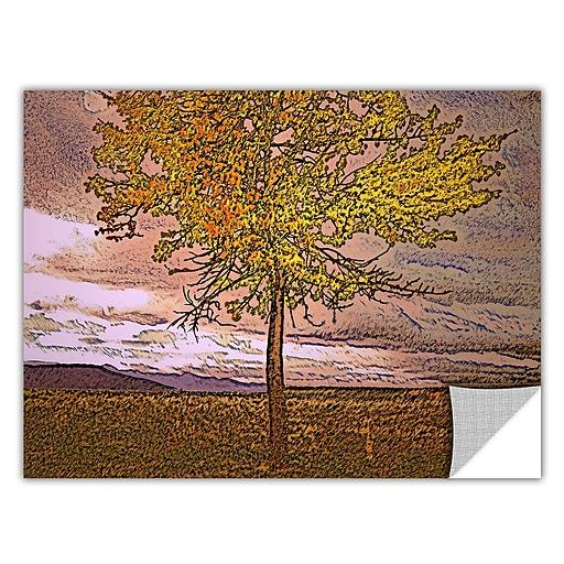 "ArtWall ""Teton Meadow Fall"" Art Appeelz Removable Wall Art Graphic 14"" x 18"" (0uhl098a1418p)"