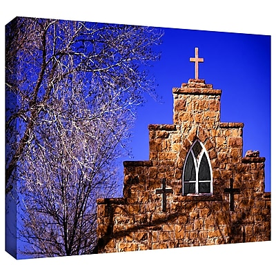 ArtWall 'Navajo Church' Gallery-Wrapped Canvas 36