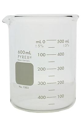 Pyrex Griffin Beaker, 600ml, Heavy Duty