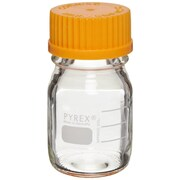 Pyrex Storage/Media Bottle with Cap, 50 ml, 10/Case