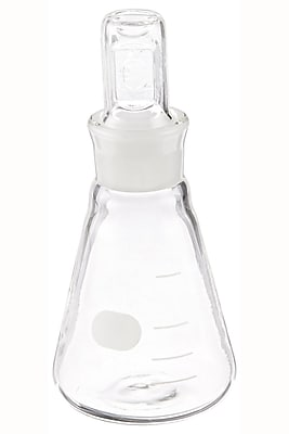Pyrex Narrow Mouth Erlenmeyer Flask, 50ml
