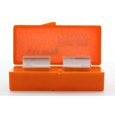 Pyrex Square #2 Cover Glass, 22 x 22 mm, 100/Pack