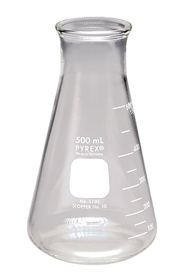 Pyrex Wide Mouth Erlenmeyer Flask, 500ml