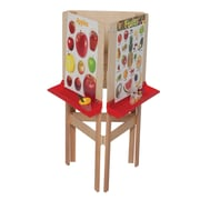 Wood Designs Adjustable Board Easel; Plywood